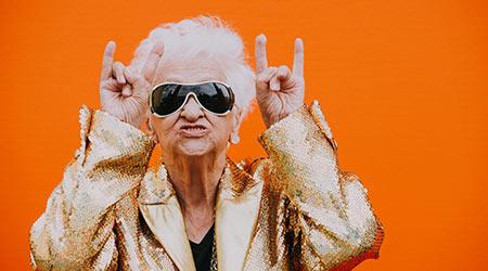 Rockstar grandma