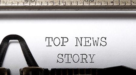 Top news story heading