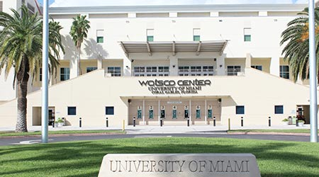 A building at the University of Miami