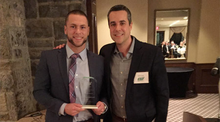 Spartan's Vermeersch Recognized As Vendor Representative Of The Year