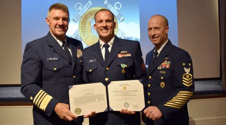 WAXIE's Michael Gould Recognized By US Coast Guard Reserves