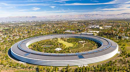 Apple Park office in Cupertino, California
