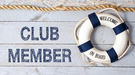 Club Member - Welcome on Board