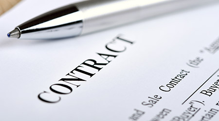 Legally-binding contract