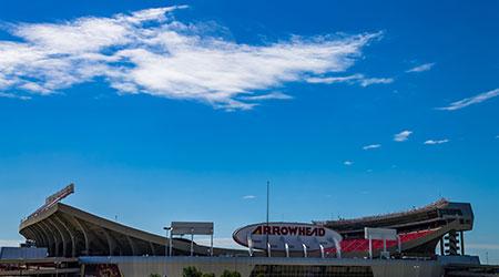 Kansas city, Missouri United States- 6/26/2017 Arrowhead stadium home of the Kansas city Chiefs NFL football team