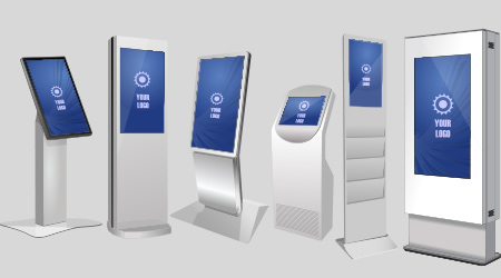 Different types of kiosks