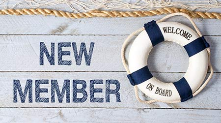 New Member - Welcome on Board. A life saver. Life ring buoy