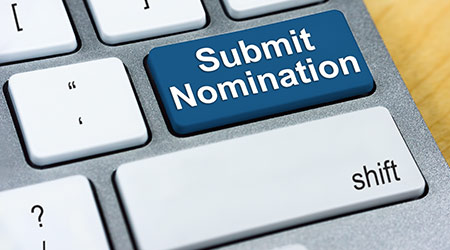 """Submit nomination"" printed on the enter button"