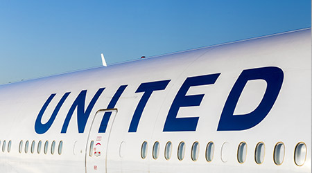 United Airlines plane grounded in Frankfurt, Germany