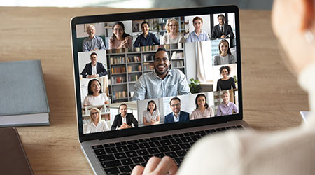 Virtual conference or meeting
