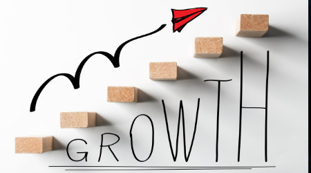 An abstract image regarding business growth