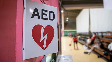 An AED