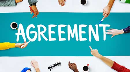 Agreement Cooperation Partnership Deal Contract Concept