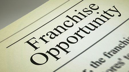 Franchise business and opportunity concept