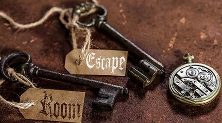 Escape room keys