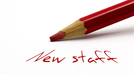 Red pencil - New staff