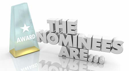 The Nominees Are Award Nominations Recognition 3d Illustration