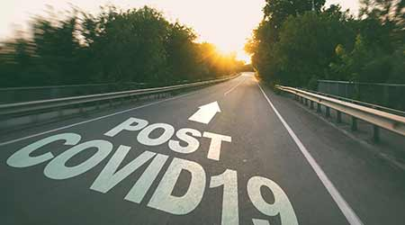 A road leading to post-covid life