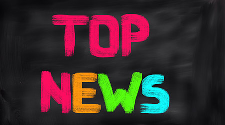 """""""Top News"""" written in colorful, all-capped letters"""