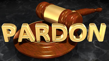 Pardon Law Concept 3D Illustration