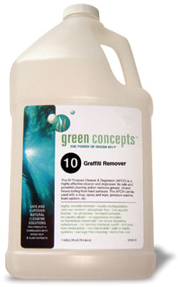 Graffiti Remover No. 10 (GR): Eco Concepts Inc.