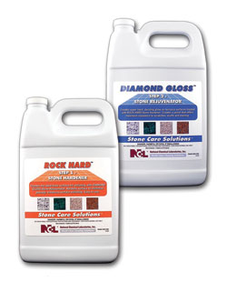 Rock Hard Stone Hardener and Diamond Gloss Stone Rejuvenator: National Chemical Laboratories Inc.