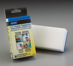 2-in-1 Erasing/Cleaning Pad: Norton Abrasives
