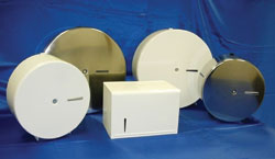 Metal Single 9-inch and 13-inch Tissue Dispensers: Palmer Fixture Co.
