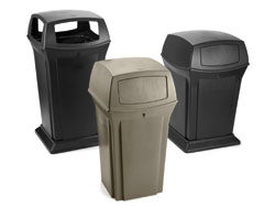 Ranger® outdoor waste containers: Rubbermaid Commercial Products