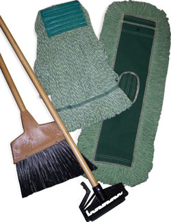 PET mops, dust mops line of green products: Zephyr Mfg., Co.