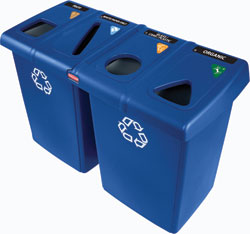 Glutton® Recycling Station: Rubbermaid Commercial Products