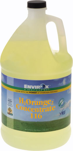 H<sub>2</sub>Orange<sub>2</sub>® Concentrate 116 General Purpose Cleaner-Degreaser-Deodorizer: EnvirOx LLC