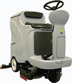 Cleantime 110 (CT110) 30-gallon rider scrubber: IPC Eagle Corp.