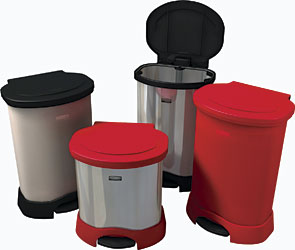Premium Step-On Container line: Rubbermaid Commercial Products