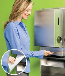 Electronic Touchless Towel System: Kimberly-Clark Professional