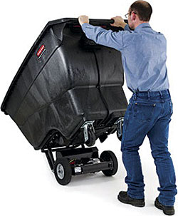 Motorized Tilt Truck: Rubbermaid Commercial Products