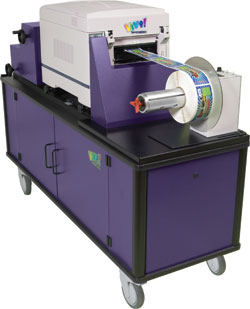 Vivo! electro photographic digital label printing system: QuickLabel Systems