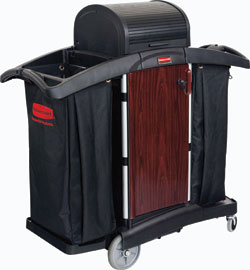Deluxe Paneled Cart: Rubbermaid Commercial Products