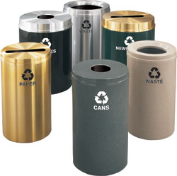 RecyclePro Receptacle Collection: Glaro Inc.