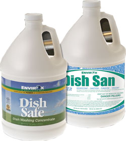 hydrogen peroxide-based Dish-Safe Dishwashing Concentrate: Envirox LLC