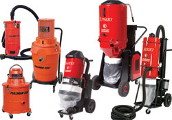 line of HEPA vacuums: Pullman-Holt Corp.