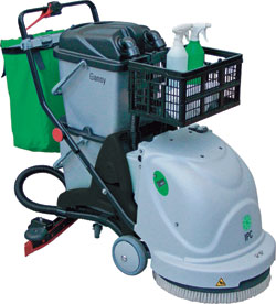 G25 battery operated 20-inch automatic scrubber: IPC Eagle Corp.
