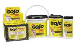 Scrubbing Wipes: GOJO Industries Inc.
