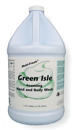 Green Isle Foaming Hand and Body Wash: Multi-Clean