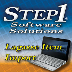 Lagasse Item Import: Step1 Software Products