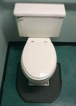 SaniPro Disposable Urinal and Commode mats: AbsorbCore LLC