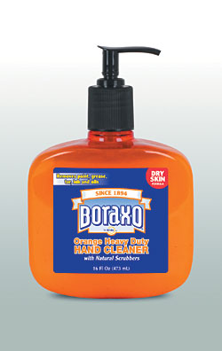 Boraxo Orange Heavy Duty Hand Cleaner-Dry Skin Formula: The Dial Corp.