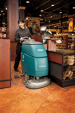 T3+ Walk-Behind Scrubber: Tennant Company