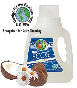 Free & Clear Laundry and Microfiber Detergent: Earth Friendly Products