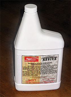DP128 Revive Wood and Stainless Steel Cleaner/Conditioner: Diversified Chemical Products Inc.